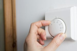 Don't be too quick to turn your central heating on