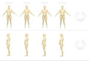 3D styku body scan