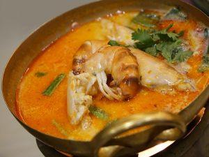 Radish and seafood soup
